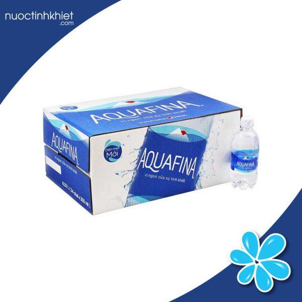 Thùng nước Aquafina 355ml