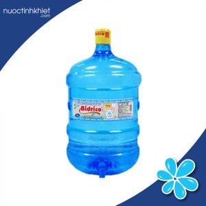 Nước uống Bidrico 19 lít đóng bình