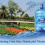 Đại lý nước khoáng Vĩnh Hảo Thành phố Thuận An – Bình Dương