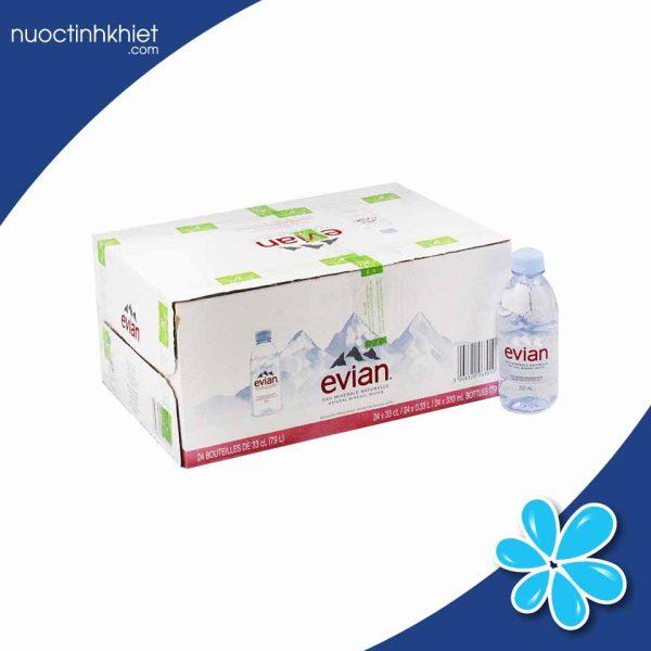 Nước khoáng Evian 330ml