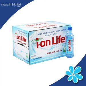 Thùng nước kiềm Ion Life 450ml