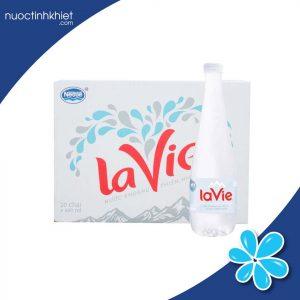 Thùng nước khoáng thiên nhiên Lavie Premium 400ml