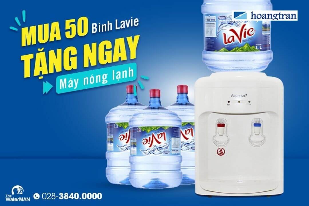 Mua Lavie tặng máy nóng lạnh