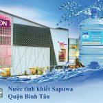 Đại lý nước tinh khiết Sapuwa Quận Bình Tân