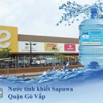 Đại lý nước tinh khiết Sapuwa Quận Gò Vấp