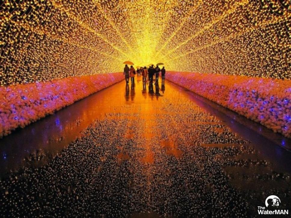 Aeon Tân Phú trong lễ hội ánh sáng