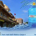 Đại lý nước tinh khiết Bidrico Quận 6