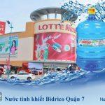 Đại lý nước tinh khiết Bidrico Quận 7