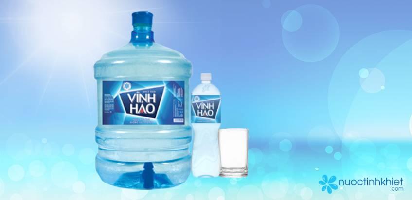 Sản phẩm nước khoáng Vĩnh Hảo