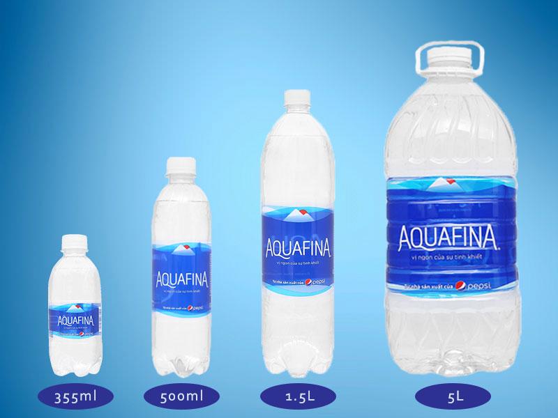 Có hay không nước tinh khiết đóng bình Aquafina 20L tại Việt Nam?
