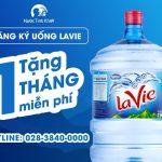 Đăng ký uống Lavie – Tặng 1 tháng miễn phí