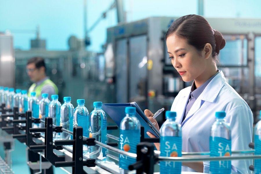 Sản xuất nước Satori