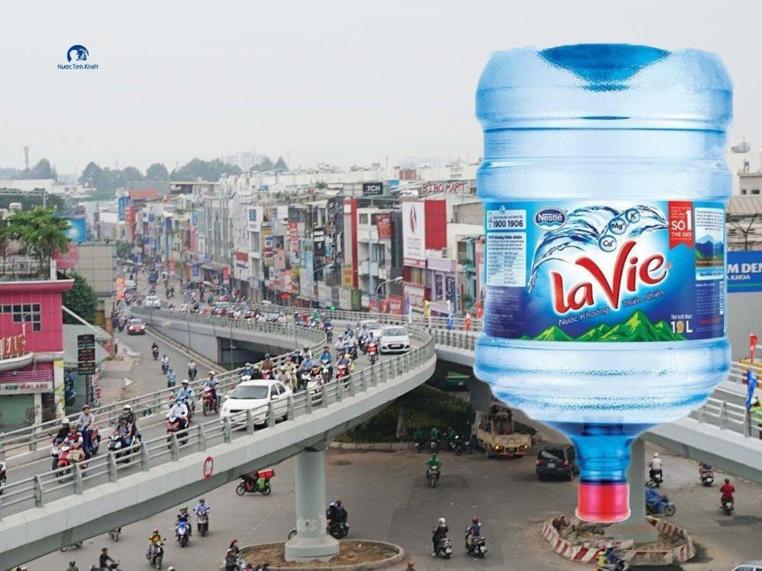 Đại lý nước khoáng LaVie tại Quận Gò Vấp