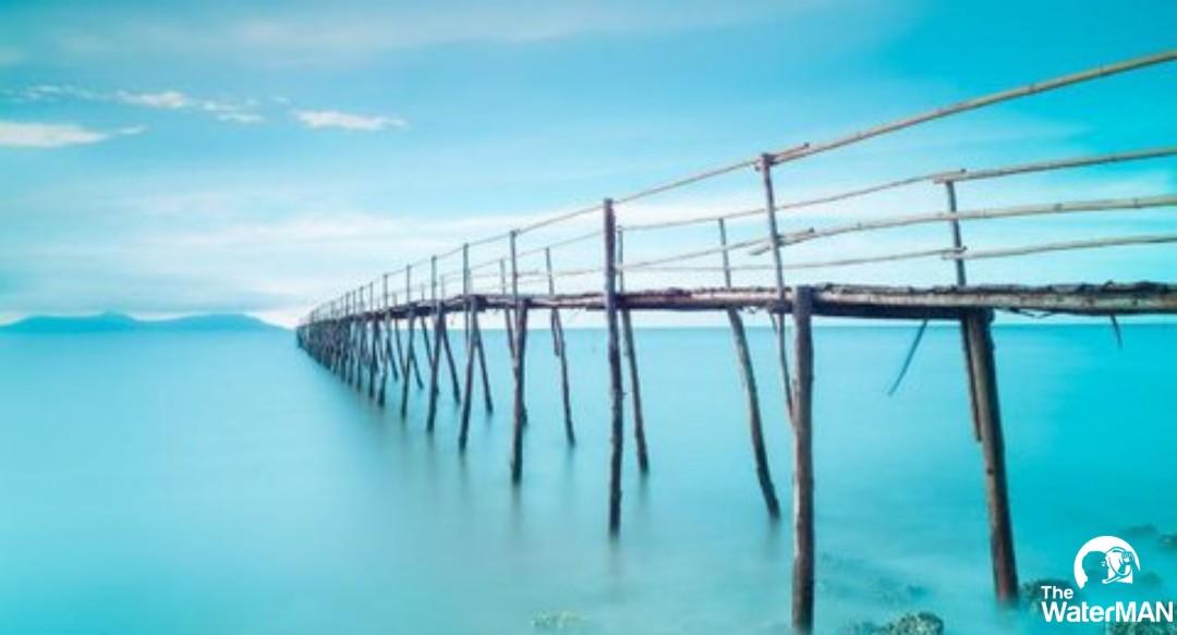 """Biển Cần Giờ được ví như """"hòn ngọc xanh"""""""