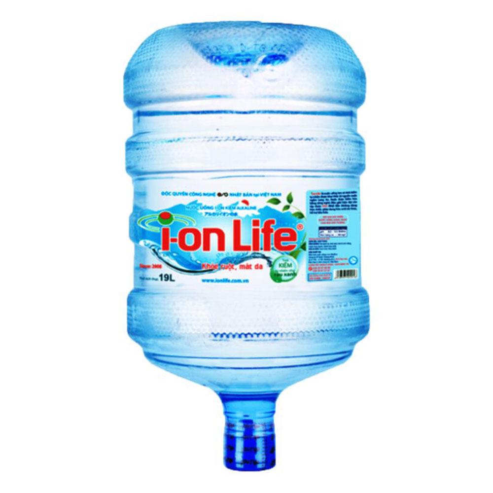 Nước Kiềm Ion Life 19L Đóng Bình Úp Chính Hãng- Nước Tinh Khiết
