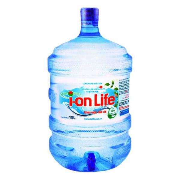 Nước kiềm ion Life bình có vòi 19L