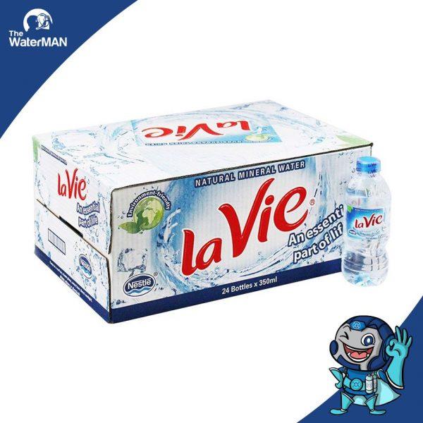 Thùng Lavie 350ml đóng chai