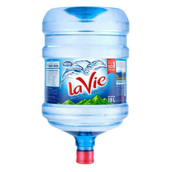 Nước khoáng Lavie bình úp 19L