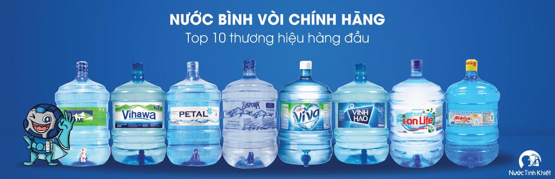 Nước uống bình vòi 20L