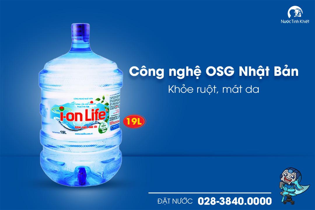 nước điện giải ion life
