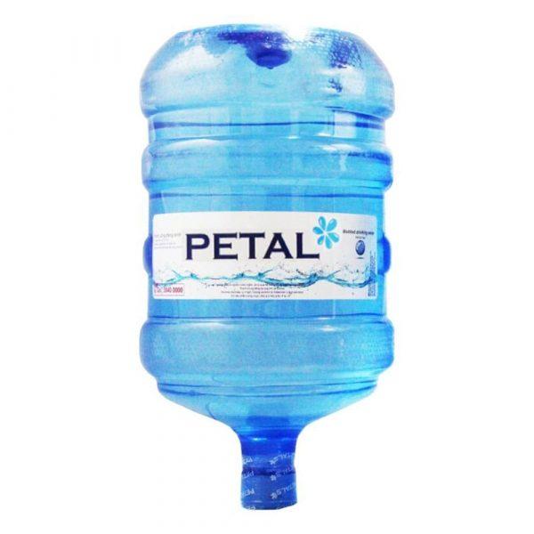 Nước tinh khiết PETAL đóng bình úp 19L