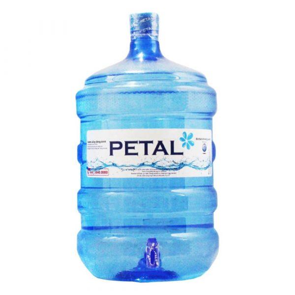 Nước tinh khiết PETAL bình có vòi 19L