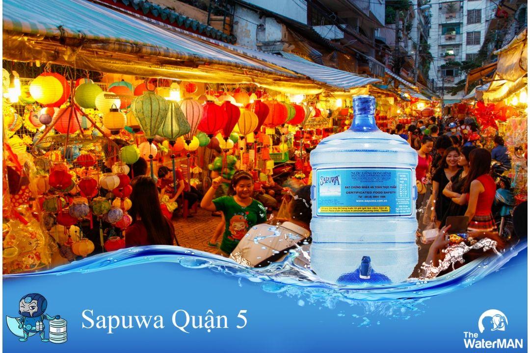 nước sapuwa tại quận 5