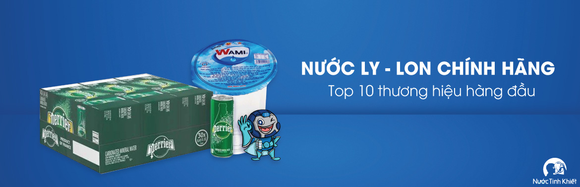 Nước ly/ lon 250ml