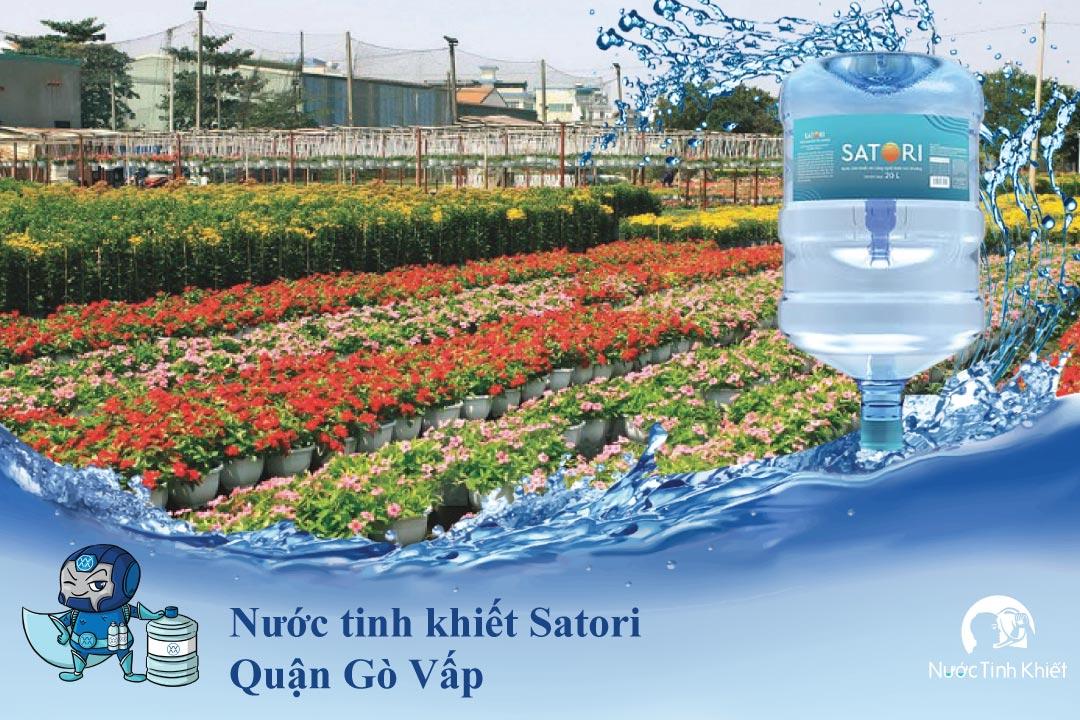Nước tinh khiết Satori Quận Gò Vấp