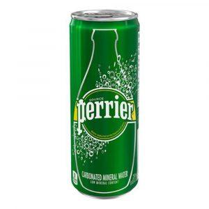 nước khoáng có ga Perrier lon mini 250ml