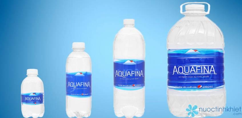 Các sản phẩm của Aquafina