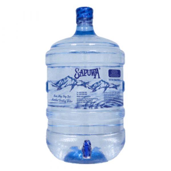 Nước tinh khiết Sapuwa bình có vòi 19L