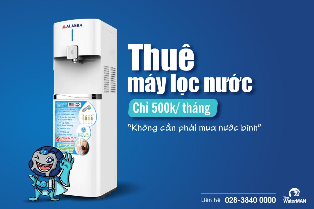 thuê máy lọc nước chỉ 500k/ tháng