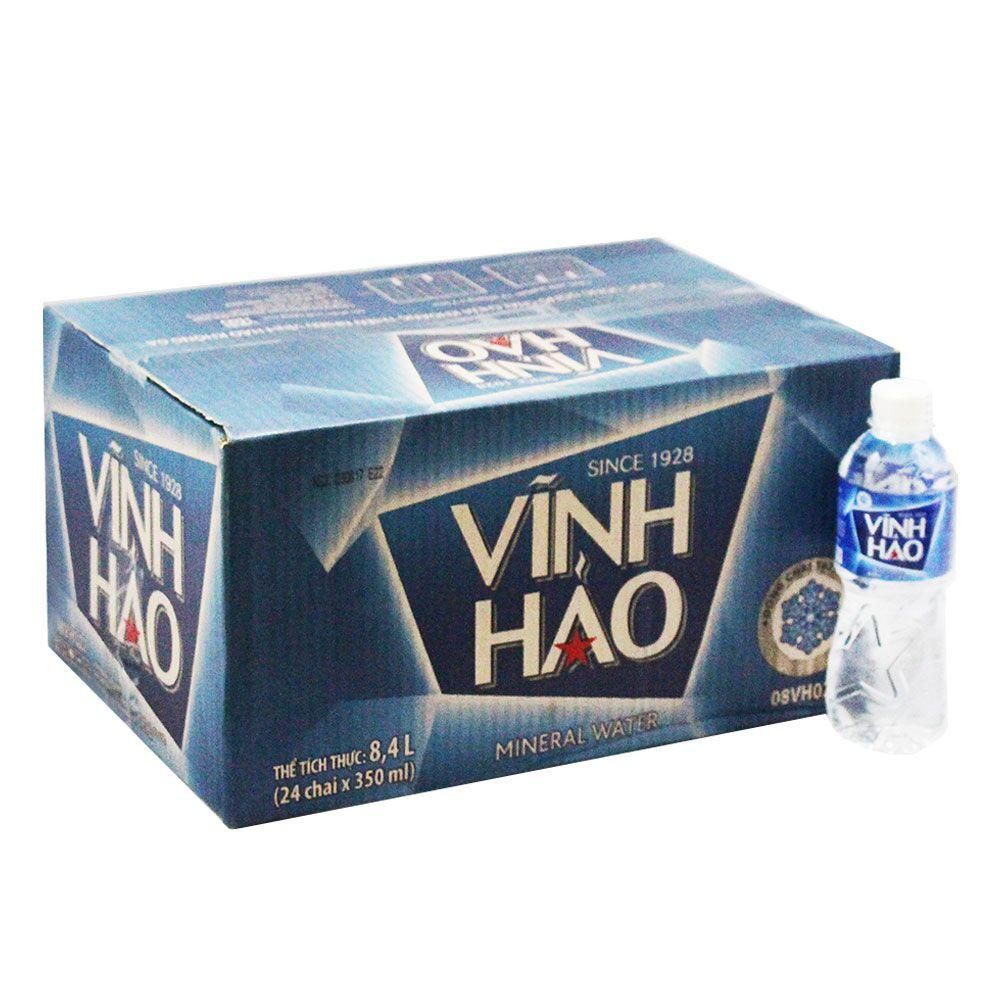 Thùng nước Vĩnh Hảo chai 350ml