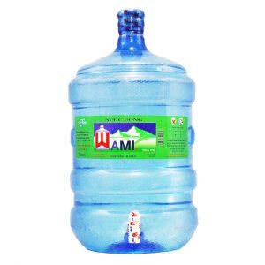 nước tinh khiết Wami bình vòi 19L