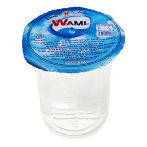 nước tinh khiết Wami ly 160ml